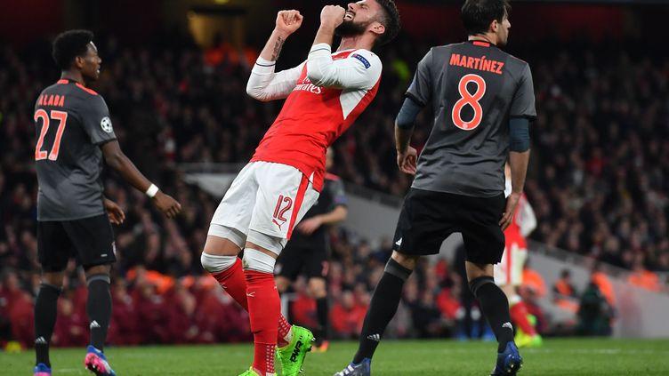 La déception d'Olivier Giroud (Arsenal) (BEN STANSALL / AFP)
