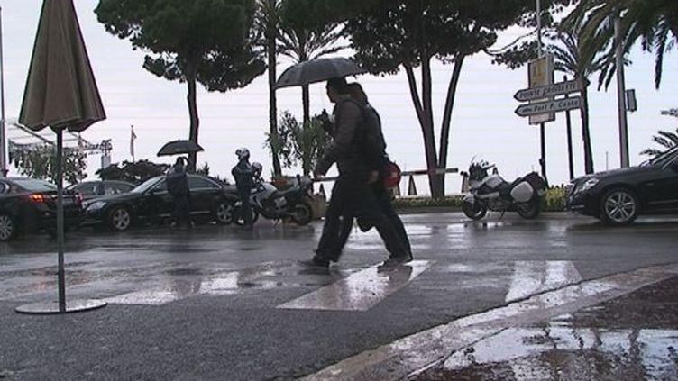 La Croisette sous la pluie - Dimanche 20 mai  (web / France 3 Côte d'Azur)