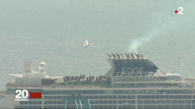 Marseille : la pollution des bateaux de croisière