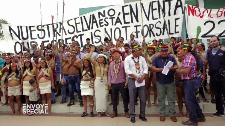 Equateur : comment les Indiens waorani ont gagné contre l'industrie pétrolière (ENVOYÉ SPÉCIAL  / FRANCE 2)