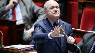 Le ministre de l'Intérieur, Bruno Le Roux, à l'Assemblée nationale, le 7 février 2017. (MAXPPP)