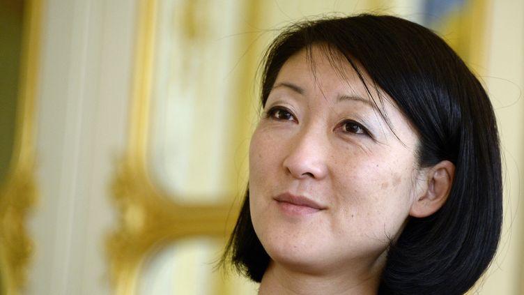La ministre de la Culture,Fleur Pellerin, le 9 avril 2015 à Paris. (BERTRAND GUAY / AFP)