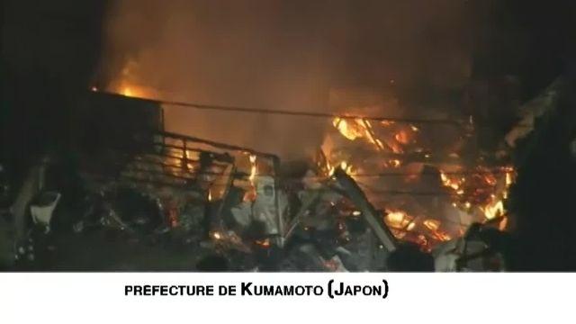 Le Japon a subi trois violentes secousses sismiques en moins de trois heures dans le sud-ouest du pays