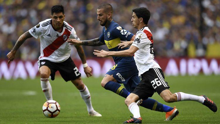 Un stade et une date ont été trouvés pour la finale retour de la Copa Libertadores. (EITAN ABRAMOVICH / AFP)