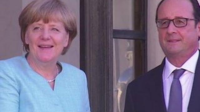 Grèce : retour sur la réunion d'urgence du couple franco-allemand