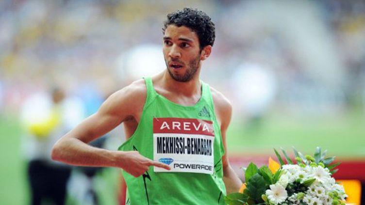 Mahieddine Mekhissi, malgré sa rixe avec Baala, sera bien à Daegu (FRANCK FIFE / AFP)