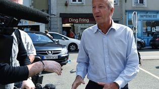 Olivier Richefou, président du consil départemental de la Mayenne. (JEAN-FRANCOIS MONIER / AFP)