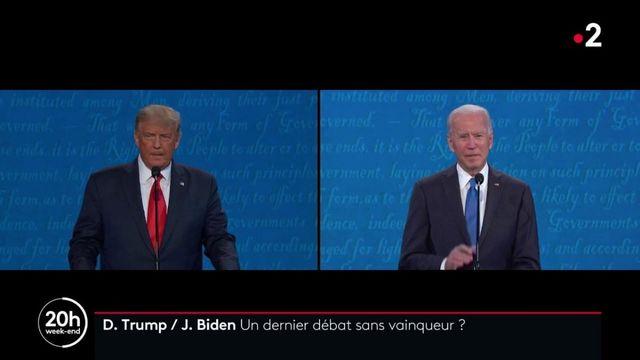 États-Unis : un débat respectueux entre Joe Biden et Donald Trump