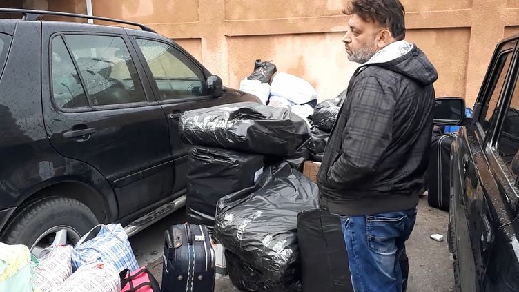Un réfugié syrien attend de quitter la Liban pour retourner dans son pays. (RADIO FRANCE)