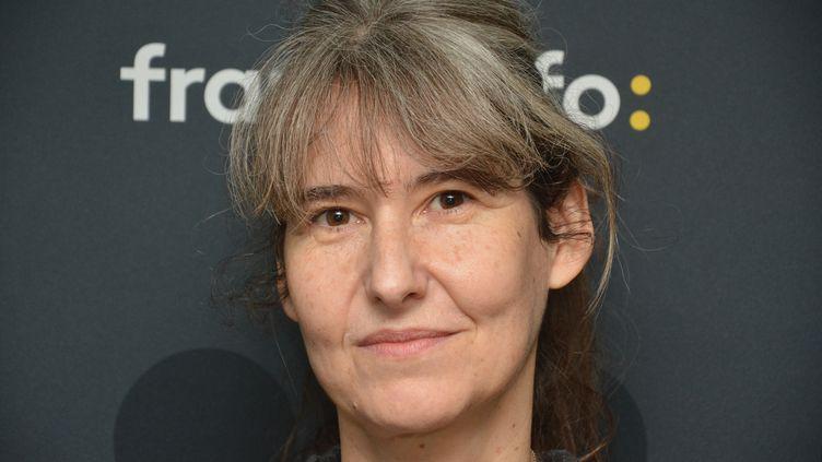 """La réalisatrice Laetitia Masson pour sa série """"Aurore"""" sur Arte. (JEAN-CHRISTOPHE BOURDILLAT / RADIO FRANCE)"""