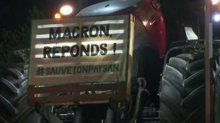 Essonne : des agriculteurs manifestent contre la future réforme de la PAC (FRANCE 2)