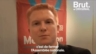 """Pour le député Adrien Quatennens, l'Assemblée nationale est """"une chambre d'enregistrement des désidératas du président"""" (BRUT)"""