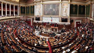 Vue panoramique de la nouvelle Assemblée nationale présidée par François de Rugy, le 27 juin 2017, à Paris. (PDN / SIPA / DNPHOTOGRAPHY)