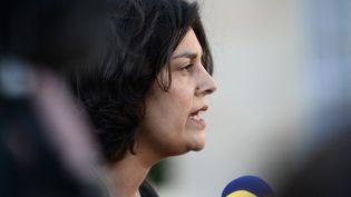 La ministre du Travail Myriam El Khomri, le 2 mars 2016 à Paris. (STEPHANE DE SAKUTIN / AFP)