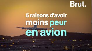 VIDEO. Cinq raisons d'avoir moins peur en avion (BRUT)
