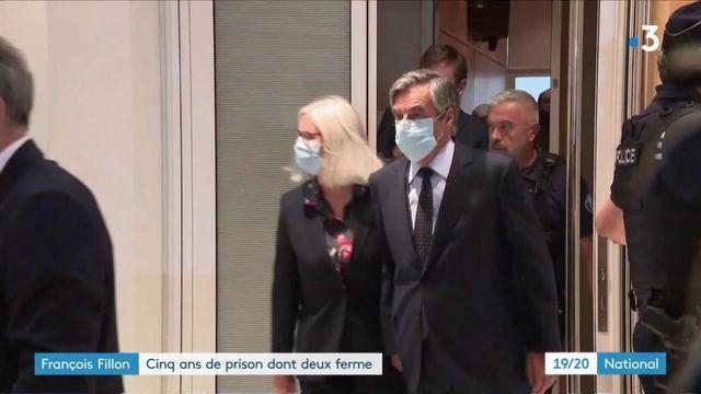 François Fillon : cinq ans de prison, dont deux fermes