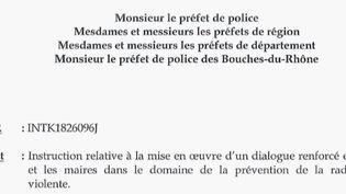 Une circulaire du ministre de l'Intérieur va permettre aux maires de pouvoirobtenir plus d'informations sur les personnes fichées S de leur commune. (FRANCE 2)