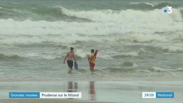 Grandes marées : prudence sur le littoral