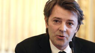 Le député-maire UMP de Troyes François Baroin, le 6 avril 2013, à l4assemblée nationale (Paris). (KENZO TRIBOUILLARD / AFP)