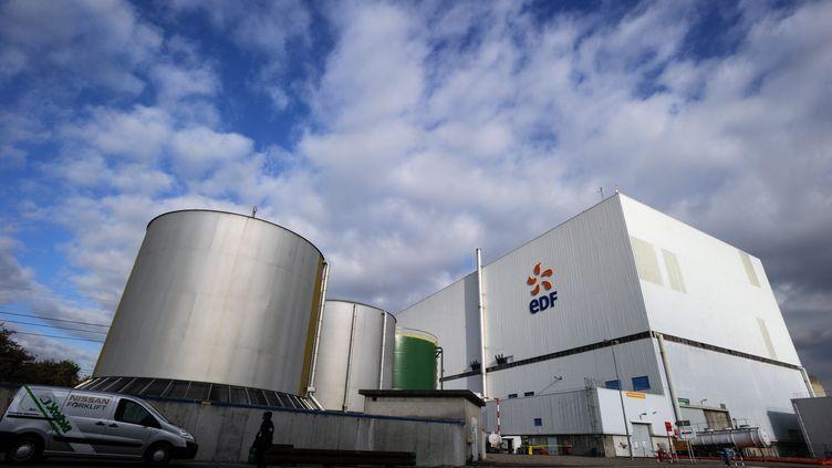 La centrale nucléaire de Fessenheim, dans le Haut-Rhin, le 14 novembre 2013. (SEBASTIEN BOZON / AFP)
