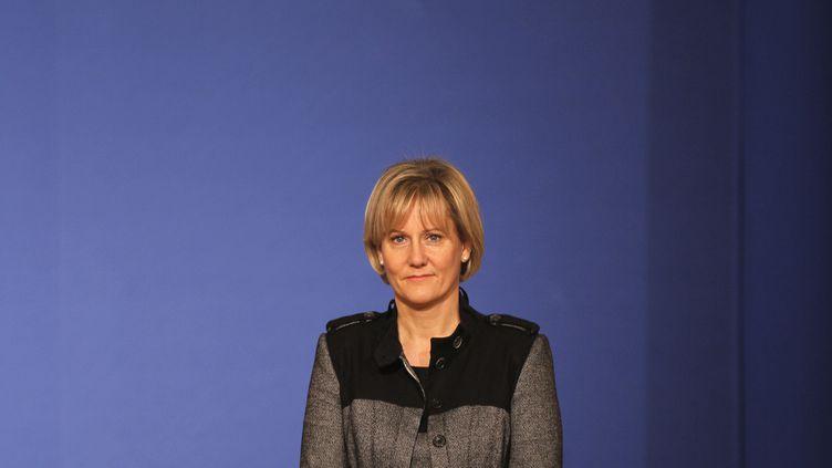 Nadine Morano, députée européenne Les Républicains, à Paris, le 15 octobre 2010. (CHARLES PLATIAU / REUTERS)