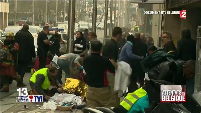 Attentats à Bruxelles : la station de métro de Maelbeek visée