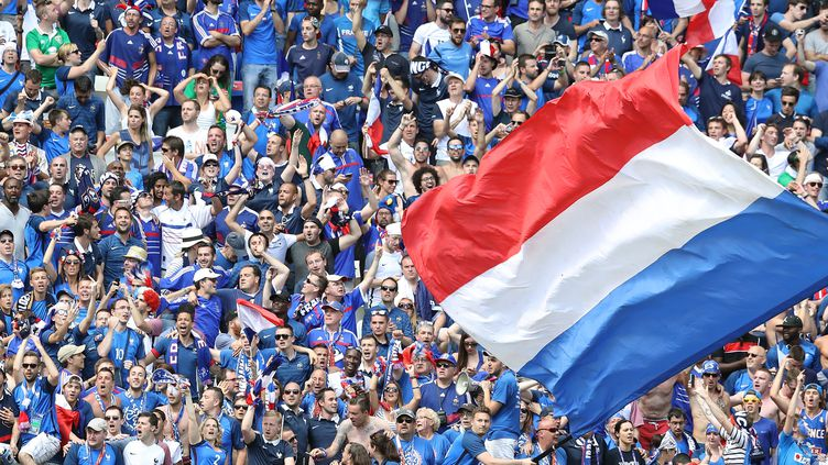 Les supporteurs français (VALERY HACHE / AFP)