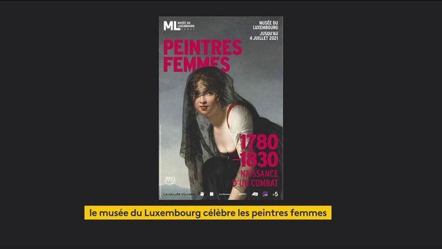 Culture : le musée du Luxembourg célèbre les femmes peintres
