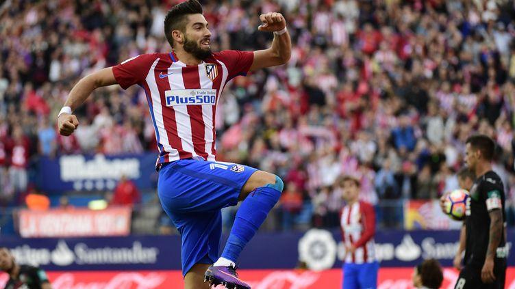 Yannick Carrasco (Atlético Madrid) s'est régalé (PIERRE-PHILIPPE MARCOU / AFP)