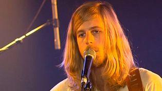 Richard Allen chanteur de Wolves and Moons  (France3/culturebox)