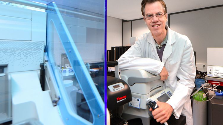 Le généticien Philippe Froguel ( 23 janvier 2013). (           SEBASTIEN JARRY                          / MAXPPP)