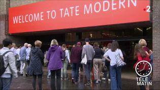 Le musée Tate Modern à Londres (FRANCE 2)