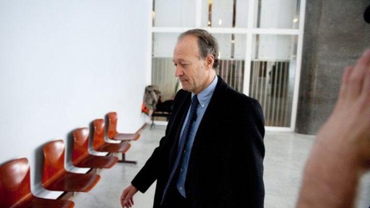 Thierry Gaubert au palais de justice de Nanterre le 14 mars 2011 (MARTIN BUREAU / AFP)