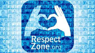 "Le logo du label ""Respect zone"". (RESPECT ZONE / FACEBOOK)"