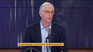 Arsène Wenger, directeur du développement du football mondial à la Fifa et consultant BeIn Sports, était l'invité de franceinfo samedi 19 juin 2021. (FRANCEINFO / RADIO FRANCE)