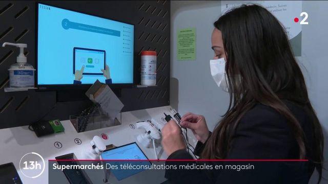 Santé : des cabines de téléconsultation médicale installées dans des supermarchés