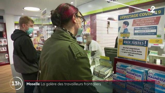 Moselle/Allemagne : la ruée vers les tests des travailleurs français frontaliers