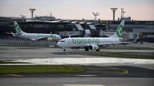 Un Boeing Transavia (ERIC PIERMONT / AFP)