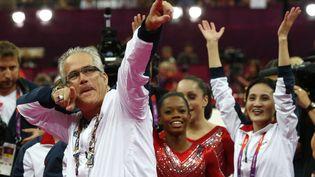 L'entraîneur américain de gymnastique John Geddert, le 31 juillet 2012 aux JO de Londres. (AFP)
