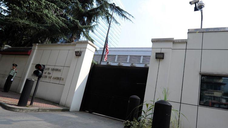 Le consulat des Etats-Unis à Chengdu, dans lecentre de la Chine, le 17 septembre 2012. (GOH CHAI HIN / AFP)