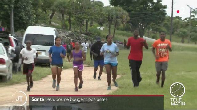 Santé: les adolescents ne font pas assez de sport