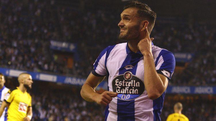 Lucas Perez, le nouvel attaquant d'Arsenal (M. MARRAS / ANADOLU AGENCY)