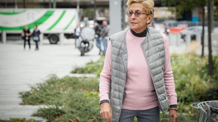 Isabelle Balkany vendredi 13 septembre devant le tribunal correctionnel de Paris. (MAXPPP)