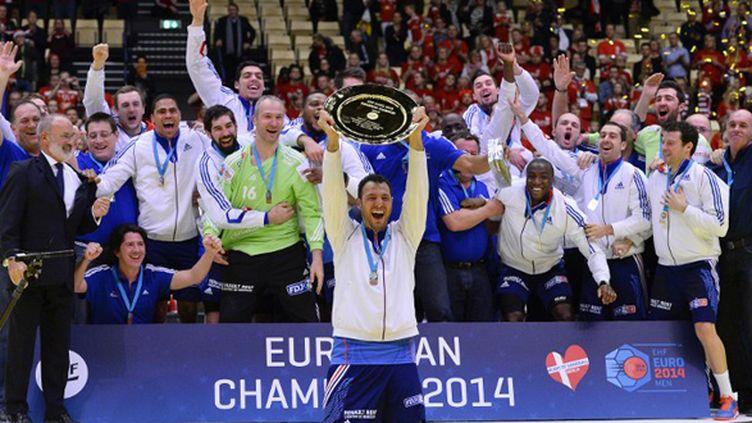 Les Indestructibles sont champions d'Europe! (JONATHAN NACKSTRAND / AFP)