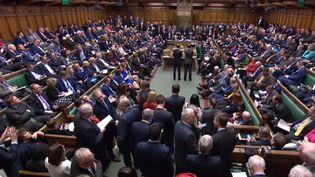 La Chambre des communes au Parlement britannique, le 14 mars 2019. (AFP PHOTO / PRU)