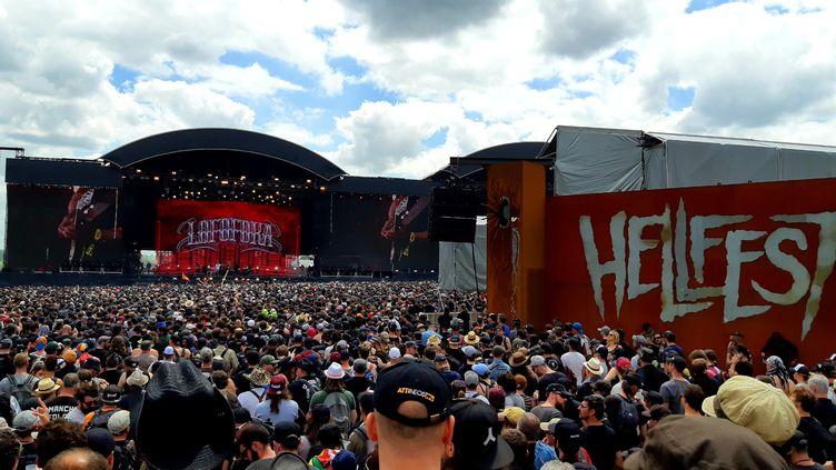 Concert de Lofofora sur la Mainstage 1 du Hellfest en juin 2019 (PHILIPPE THOMAS / FRANCE-BLEU BASSE-NORMANDIE)