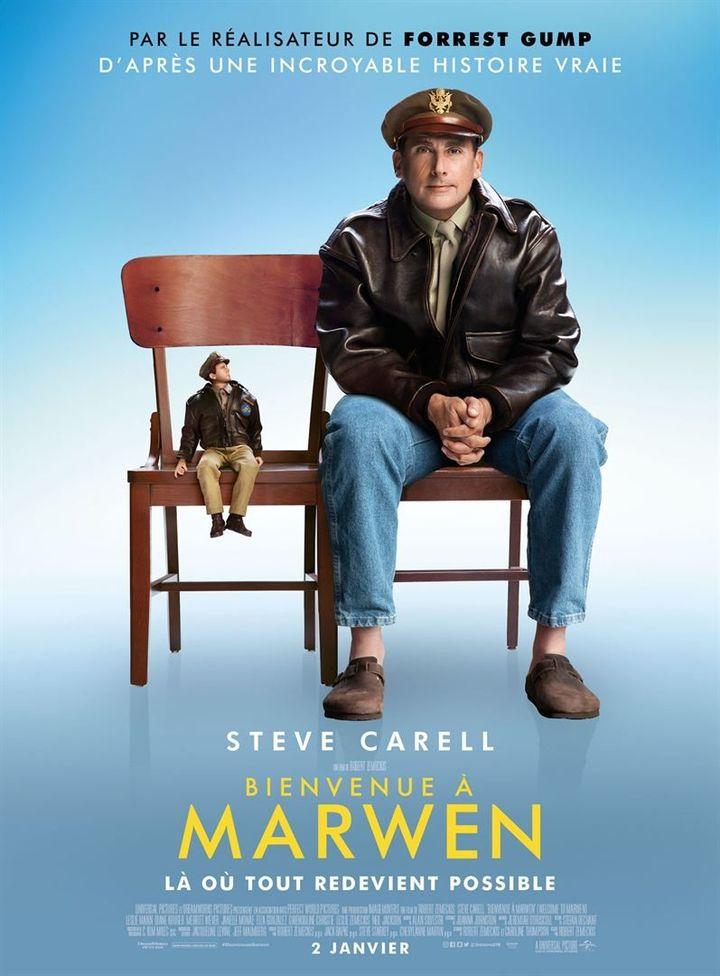 """""""Bienvenue à Marwen"""" : l'affiche  ( Universal Pictures International France)"""