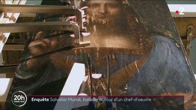 """""""Salvator Mundi"""" : l'histoire de la bataille autour du tableau le plus cher du monde"""