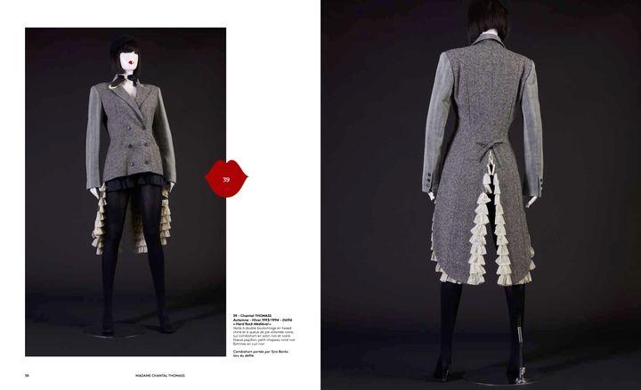"Vente Chantal Thomass ""40 ans de mode"" : modèles automne-hiver 1993-94, collection Hard rock médiéval (Jo Zhou)"