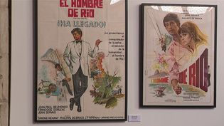 À Lille (Nord) une exposition sur Jean-Paul Belmondo a ouvert ses portes samedi 11 septembre au Palais Rihour.  (CAPTURE D'ÉCRAN FRANCE 3)